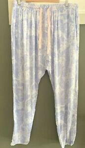 Peter Alexander Ladies Pyjama {LILAC LACE PJ DROP PANT} Size XL