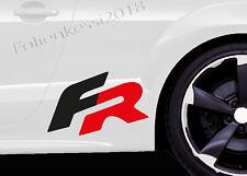 "Seat Leon ""FR""  2 Aufkleber  150x90 mm ---30 Farben--- Seat 014"