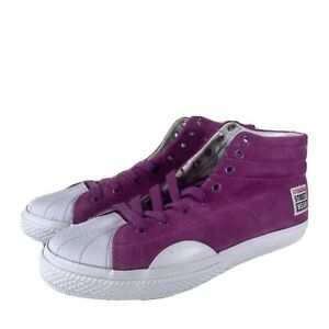 Mens/Unisex Vision Street Wear Suede Hightops USA Size 8 UK 6.5 Purple NEW