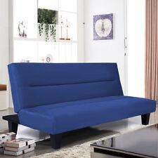 "Microfiber Futon Folding Couch Sofa Bed w/ 6"" Mattress Sleep Recliner Lounger"