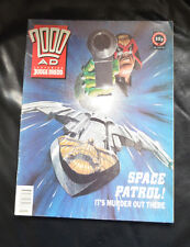 2000ad Prog #766 from 18 Jan 1992 Judge Dredd dinos-old-toy-shop