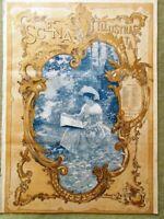 Scena Illustrata 15 Ottobre 1894 Teatro Lirico di Milano Isola Serpi Grafologia