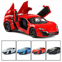 Lykan Hypersport 1:32 Scale Model Car Diecast Toy Vehicle Collection Kids Gift
