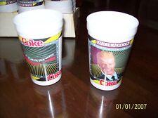 Coca Cola Original Max Headroom Cups -Sold in lots of 10