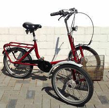 Faltbares Front-Dreirad für Erwachsene Fahrrad Draisin Shopi
