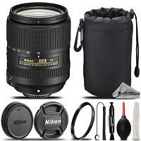 Nikon AF-S DX NIKKOR 18-300mm f/3.5 VR Lens +Lens Hood +U.V Filter - Saving Kit