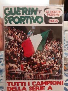 Album calciatori anastatico Guerin Sportivo 1974/75 completo + set da incollare