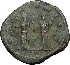 TRAJAN DECIUS 249AD Rome Sestertius Pannonia Authentic Ancient Roman Coin i56210