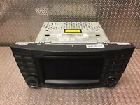 Mercedes Sat Nav Stereo CD Player Radio Unit E CLS Class W211 W219 2118202197