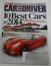 Car and Driver Automobile Annual Magazine Back Issues | eBay