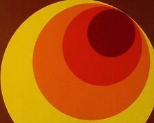 701312 Retro Wallpaper Yellow Orange Red Brown 70s Vintage