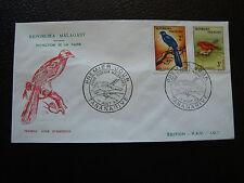 MADAGASCAR - enveloppe 1er jour 12/8/1963 (cy82) (R)