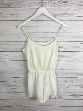 ABERCROMBIE & FITCH Playsuit - Size Medium - Ivory - Great Condition - Women's