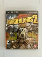 PS3 Borderlands 2 (Sony PlayStation 3, 2012) Complete with Box and Manual