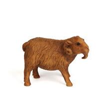 More details for vintage japanese carved wood goat netsuke 19/20th c.