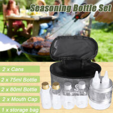 6PCS/Bag Spice Jar Condiment Storage Seasoning Bottle Container Kitchen   S