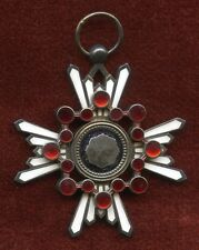 WWII Japanese Order of the Sacred Treasure 4th-6th Class Medal, No Ribbon