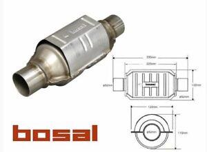 Katalysator BOSAL KAT Universal 099-949 Runde Form 52/55 bis 3.0L Universalkat *