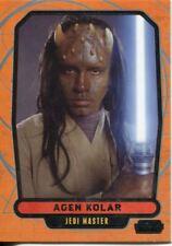 Star Wars Galactic Files Series 1 Base Card #80 Agen Kolar