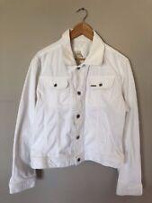DIESEL White Denim Jacket Size Mens Medium - Unisex