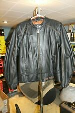 Womens Harley Davidson Leather  2W Fitted Big Logo 105 Years