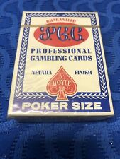 """Golden Gate Casino PGC """"21"""" Special Hoyle Poker Professional Gambling Cards New"""
