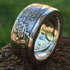 """2 Hryvnia"" 2007, Ukraine. Size 7-14 Ukrainian Coin Ring, made of coin"