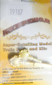Precision Scale S #19107 Hatch, Tank Car, Used on Texaco Cars (Brass)