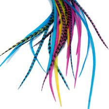 Real Feather Hair Extensions: Candy - DIY kit with rings