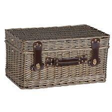 Picnic Hamper with Cool Box / Rattan Picnic Hamper / Wicker Picnic Basket