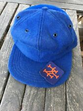AWESOME Old 1960's MINT Unused Vintage Baseball Wool Hat ANTIQUE Fitted NY Mets
