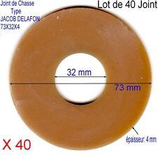 Lot de 40 Joints de Chasse,Mécanisme Type JACOB DELAFON,Caoutchouc Para,73x32x4