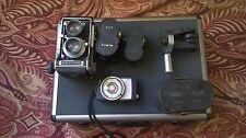 Mamiya C33 Professional,  120 roll film, 6x6cm format, with three Mamiya C-serie