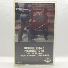 Boogie Down Productions Ghetto Music The Blueprint of Hip Hop Cassette 1989