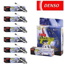 6 - Denso Platinum TT Spark Plugs 2002-2012 Jeep Liberty 3.7L V6 Kit Set