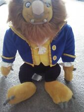 """Beauty & The Beast LARGE  23"""" Disney Store Exclusive Stamped Plush RARE"""