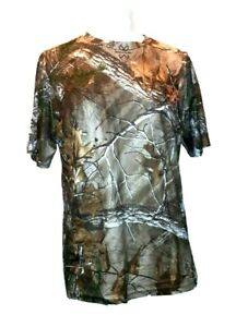Realtree Xtra Camouflaged Med 44 x 29 HUNTING Game gun t Shirt