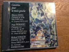 Ravel Prokofiev Strauss - Concertos Main Gauche [CD]  Svetlanov Kitajenko