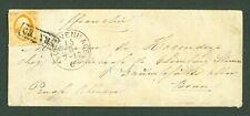 NEDERLAND nr 3 op envelopje van 's Gravenhage naar Bonn