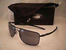 39ef549dee9 Oakley Gauge 8 Matte Black w Grey Lens NEW sunglasses (oo4124-01 62mm)