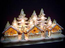 LED decorazione tavolo ARCO DI NATALE LUCI 3D MERCATINO 3 Statue 48 CM 10247