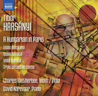 Tibor Harsanyi : Tibor Harsanyi: A Hungarian in Paris CD (2016) ***NEW***