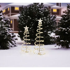 Light-Up Spiral Trees