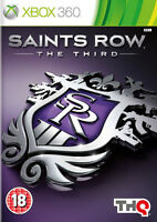 Saints Row The Third (3) ~ XBox 360 (in Great Condition)