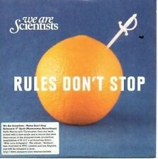 (AN652) We Are Scientists, Rules Don't Stop - DJ CD