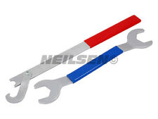 Two Sized Viscous Fan Spanner 32mm / 36mm Suits Range Rover P38 & Discovery V8