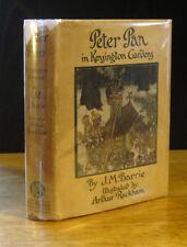 J. M. BARRIE'S PETER PAN (1920) ARTHUR RACKHAM, HODDER 1ST EDITION IN WRAPPER