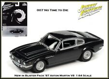 Johnny Lightning New '87 Aston Martin V8 007 No Time To Die 1/64th Diecast Car