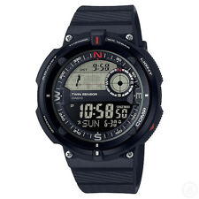 CASIO OutGear Twin Sensor Compass Thermometer World Time Watch SGW-600H-1B