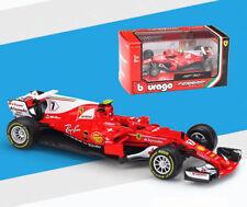 Bburago 1:43 Ferrari F1 SF70H NO.7 Kimi Raikkonen Diecast Model Car New
